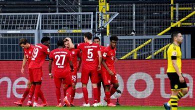 Photo of El Bayern Múnich venció al Borussia Dortmund en el clásico y es líder indiscutido de la Bundesliga