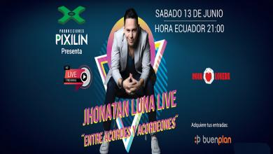 Photo of Jhonatan Luna «Entre acordes y acordeones» concierto online en vivo