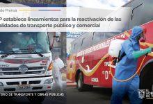 Photo of MTOP establece lineamientos para la reactivación de las modalidades de transporte público y comercial