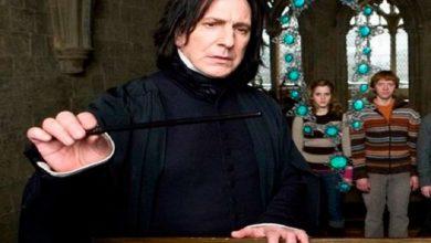 Photo of J.K. Rowling revela el origen del nombre de Severus Snape