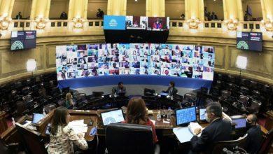 Photo of Primera sesión virtual del Congreso argentino bajo cuarentena obligatoria
