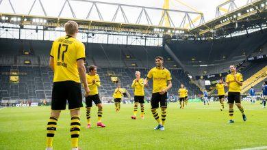 Photo of ¡Regresó la Bundesliga! Haaland marcó el camino en la goleada (4-0) del Dortmund al Schalke