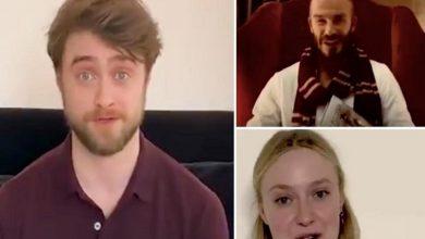 Photo of Radcliffe y Beckham leen libro de Harry Potter para ayudar ante confinamiento