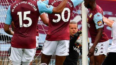 Photo of ¡Regresó la Premier League con polémica! El balón entró y el juez no validó el gol