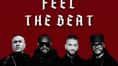 "Photo of Black Eyed Peas sigue apostando por las colaboraciones y se unieron a Maluma en ""Feel The Beat"""