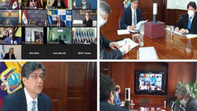 Photo of Canciller Valencia reitera llamado a una estrategia global para reactivar la economía