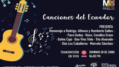 """Photo of """"Canciones del Ecuador"""" en homenaje a Humberto y Rodrigo Saltos"""