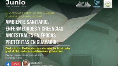 Photo of Archivo Histórico del Guayas presenta segunda charla virtual, por el mes de los Archivos