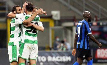 Photo of Lluvia de goles en Milán: Sassuolo complicó al Inter y lo empató 3-3 sobre el final