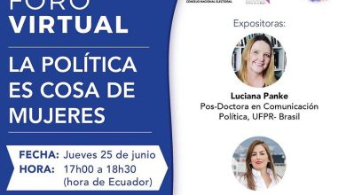 Photo of Foro virtual gratuito «La Política es cosa de mujeres»