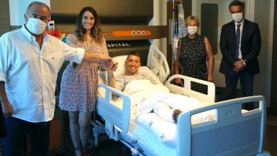 Photo of Fernando Muslera celebra su cumpleaños dentro del hospital