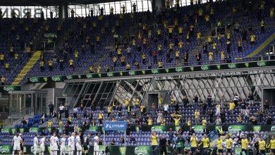 Photo of El clásico de Dinamarca se jugó con 3 mil hinchas en las gradas