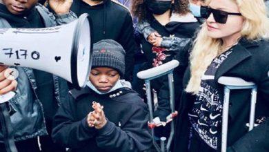 Photo of Madonna y Banksy se implican en las protestas antirracismo en el Reino Unido