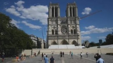 Photo of La catedral de Notre Dame reabre su explanada