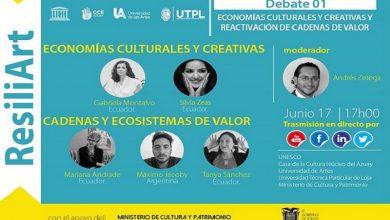 Photo of ResiliArt edición Ecuador – Debate de reactivación de las economías culturales y creativas