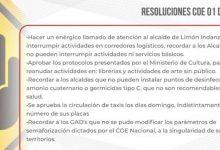 Photo of COE Nacional resuelve nuevas medidas para la emergencia sanitaria
