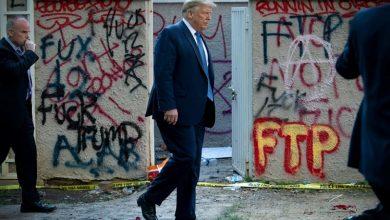 Photo of Trump dice que acudió al búnker de la Casa Blanca pero solo para «una inspección»