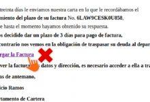 Photo of Si recibes este correo en el que se exige el pago de una factura están intentando «hackearte»