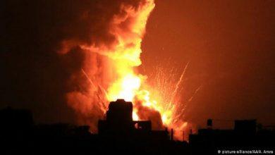 Photo of Israel ataca posiciones de Hamás en Gaza en respuesta a misiles