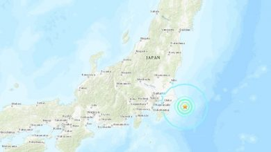 Photo of Se produce un sismo de magnitud 5,9 en Japón