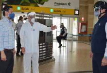 Photo of Ministro Martínez verificó protocolos de bioseguridad en aeropuerto y terminal terrestre de Guayaquil