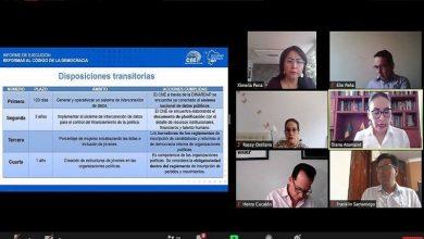Photo of Una tercera forma de votar se plantea al CNE para los comicios generales de 2021