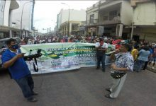 Photo of Comerciantes minoristas protestaron en Machala por reubicación