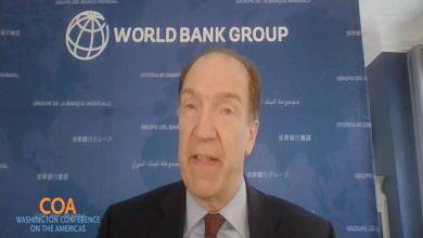 Photo of David Malpass del Grupo Banco Mundial: «La prosperidad de las futuras generaciones dependerá de acción audaz ahora»