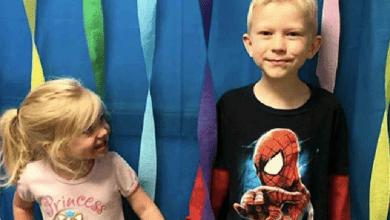 Photo of Avengers felicitan a Bridger, niño que defendió a su hermanita de un perro