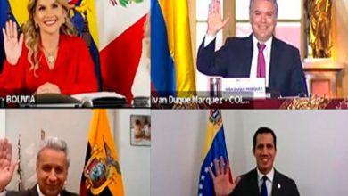 Photo of Ecuador participa en cambio de Presidencia Pro Témpore de la CAN