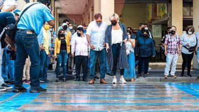 Photo of Raices de Luz Eterna en la calle Rumichaca fue inaugurada por la Alcaldesa de Guayaquil