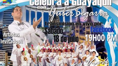 Photo of Celebra a Guayaquil con Yuber Segarra