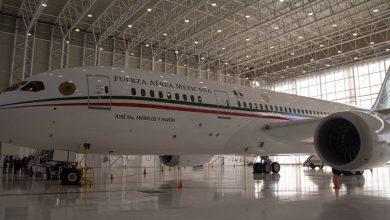 Photo of AMLO confirma llegada de avión presidencial y anuncia mañanera en Hangar