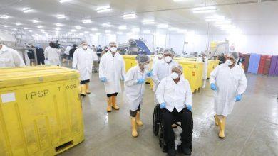 Photo of Lenín Moreno verificó medidas de bioseguridad para la exportación del camarón ecuatoriano