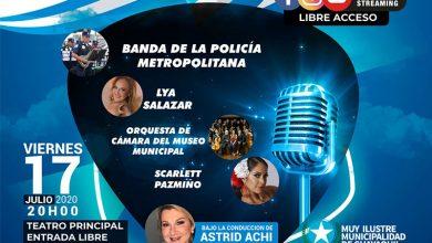 """Photo of Show musical """"Las estrellas rinden homenaje a Guayaquil"""" con la conducción de Astrid Aschi"""