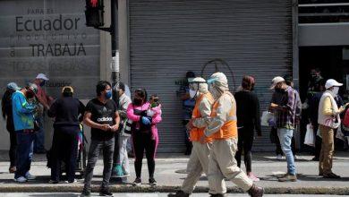 Photo of Casos de coronavirus en Ecuador: martes 7 de julio: 63.245 contagiados, 4.873 fallecidos