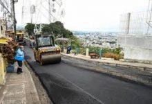 Photo of Alcaldesa inaugura nueva vía entre Sergio Toral y Monte Sinahí que beneficia a 50 mil habitantes.