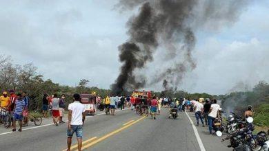 Photo of Colombia: siete muertos por explosión de camión cisterna