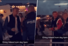Photo of [VIDEO] Erling Haaland fue expulsado de una discoteca en Noruega
