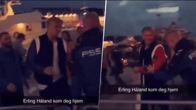 Photo of [VIDEO] Erling Haaland fue expulsado de una discoteca en Noruega