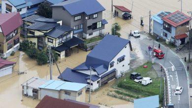 Photo of Las lluvias causan inundaciones y deslaves en norte de Japón