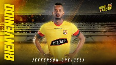 Photo of BarcelonaSC oficiliza la contratación de Jefferson Orejuela