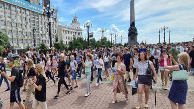 Photo of Nueva protesta en Rusia por detención de gobernador crítico con el poder