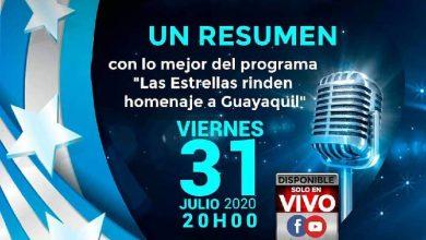 Photo of Resumen con lo mejor del programa «Las Estrellas rinden homenaje a Guayaquil»