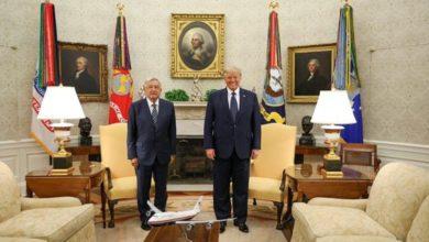Photo of AMLO y Trump ofrecen mensaje conjunto en la Casa Blanca