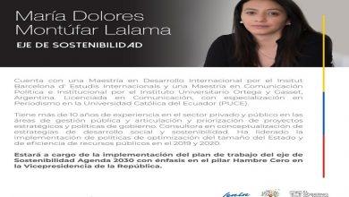 Photo of Tres mujeres liderarán la implementación del plan de trabajo de los ejes de sostenibilidad, social y productivo en la Vicepresidencia de la República
