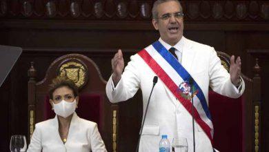 Photo of Abinader presta juramento como presidente de República Dominicana
