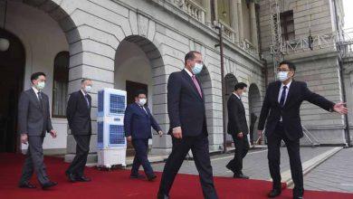 Photo of China fustiga a EEUU por visita de funcionario a Taiwán