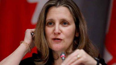Photo of Trudeau nombra a Chrystia Freeland nueva ministra de Finanzas de Canadá