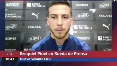 Photo of [VIDEO] Lucas Piovi se compromete con Liga de Quito